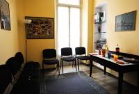 sala attesa per gruppi con bambini