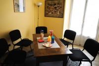 sala attesa per interviste, audizioni protette e colloqui individuali